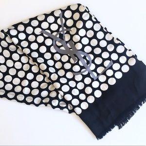 Yves Saint Laurent Accessories - YSL Yves Saint Laurent Silk Scarf Wrap France XXL